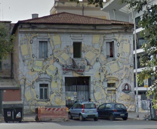 Blu via Ostiense 122